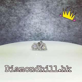 💎18k金鑽石耳環💎