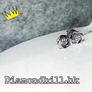 18k金玫瑰鑽石