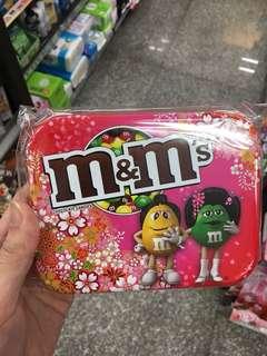 櫻花M&Ms牛奶朱古力限定版