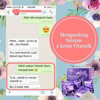 Dianz Vitamilk Milk Booster