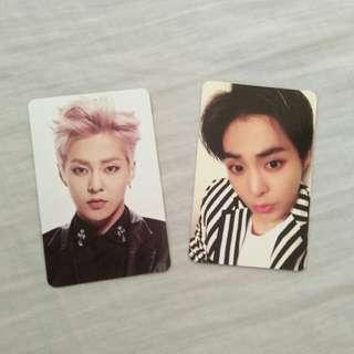 EXO Xiumin photocards