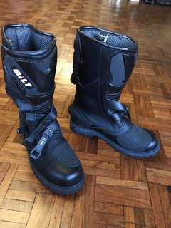 Italian Brand Motorcycle Boots for Men Size12