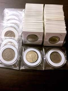 80pc thailand mixed old coin