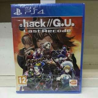 PS4 .Hack//G.U. Last Recode