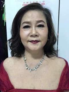 Mum makeup & hairstyle