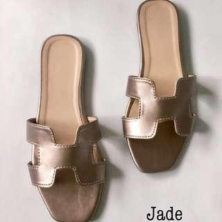 Jade Flats - Hermes Inspired
