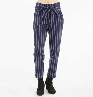 Women's striped Blue and Red pants