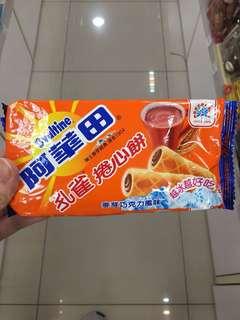 台灣直送 阿華田捲心餅
