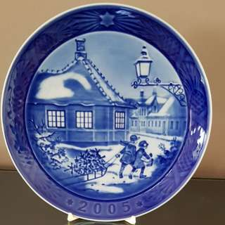 Royal Copenhagen 2005 Year Plate