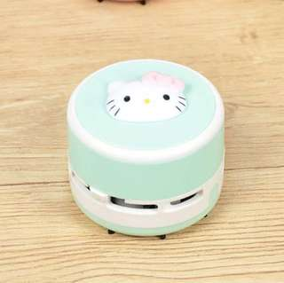 📝 (IS) Table/Desk Top Vacuum Cleaner- Hello Kitty Green