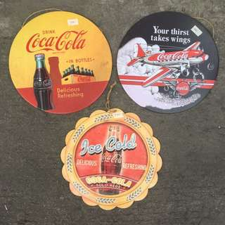 Coca-Cola Coke Tin Sign