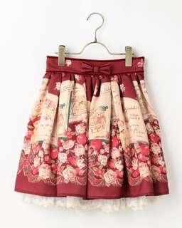 Liz Lisa Bear x Book Skirt