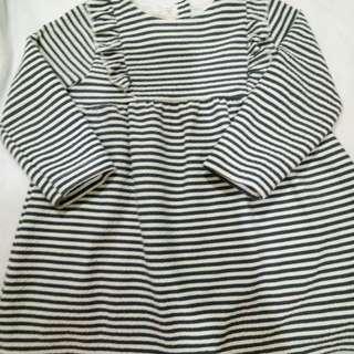 Zara baby dress euc 12-18 m
