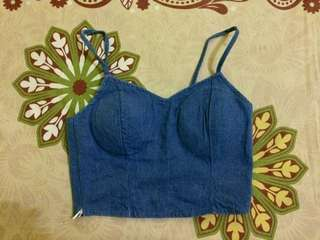 Bustier blue