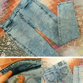 Fitted Jeans Size 29