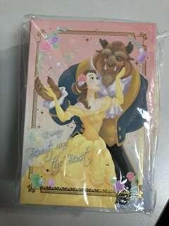 Disney Beauty and the beast memo