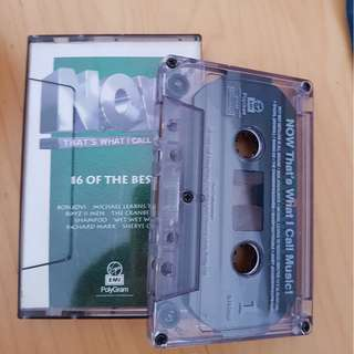 NOW That's what I called Music Audiotape / cassette