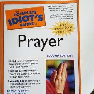 Prayer book , pray confidently
