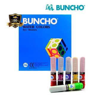 Buncho poster paint x 2
