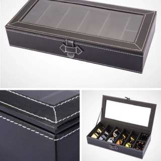 現貨‼️眼鏡手錶/飾物多用途收藏盒