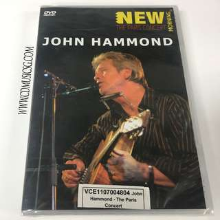 [DVD] John Hammond - The Paris Concert
