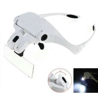 adjustable loupe eyeglasses bracket