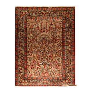SAMEYEH LOT NO RAVAR KERMAN FROM S. PERSIA 227 X 140 CM