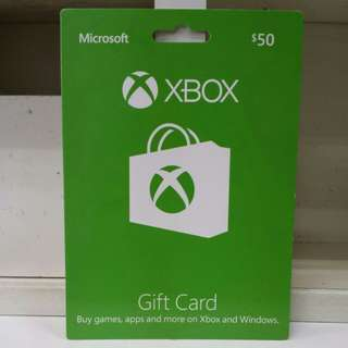 Microsoft XBOX Gift Card (50SGD)