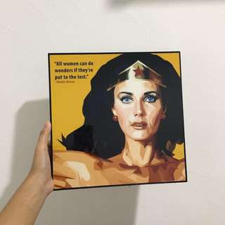 Wonder Woman Art (Price Including Postage)