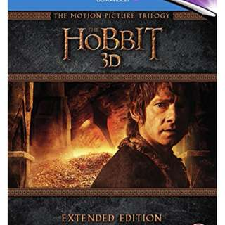 The Hobbits Trilogy Extended Ed. Bluray