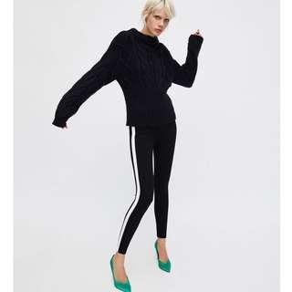 Zara White Legging