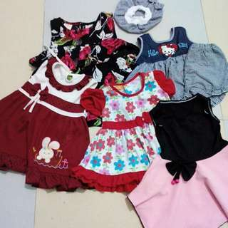 PROMOSI SET baby Girl Dress