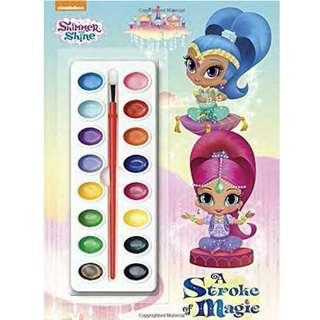 BN Book: Nickelodeon Shimmer and Shine A Stroke of Magic Coloring and Activity Book