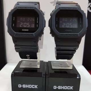 COUPLE💝SET CASIO GSHOCK 200m DIVER WATCHES : 1-YEAR OFFICIAL WARRANTY: 100% Originally Authentic G-SHOCK Resistant In Deep BLACK SUPER ILLUMINATOR LIGHT Best Gift For Most Rough Users & Unisex : DW-5600BBN-1DR & DW-5600BB / DW5600BB / DW-5600 / DW5600BBN
