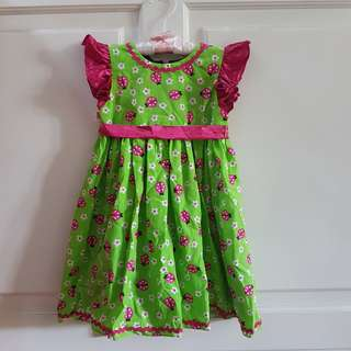 Dress Girls Lady Bugs