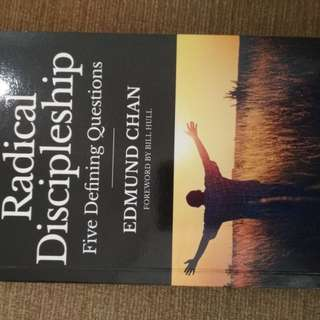 Radical discipleship by Edmund Chan
