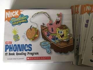 Scholastic Phonics - Spongebob Squarepants set of 12 books
