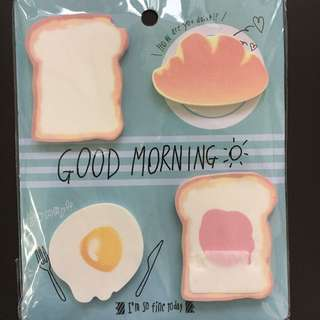 cute memo pads / post its