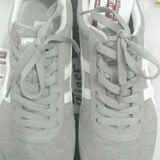(REPRICED!) Onitsuka Tiger Dualio Light Grey/White