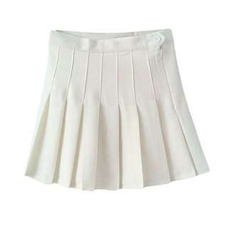 Premium AA White Tennis Skirt #bajet20