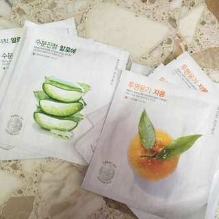 Real Nature Hydrogel Mask
