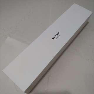 BNIB Apple Watch Series 3 38mm Space Gray Aluminium Gray Sport Band