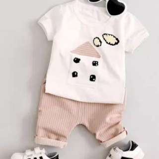 Baby boys Top+ Pants