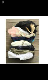 31 pcs clothing clearance grab bag for Size S