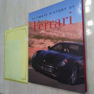 Coffee Table book: Ultimate History of Ferrari