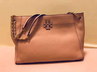 *PINK* Tory Burch McGraw chain shoulder bag
