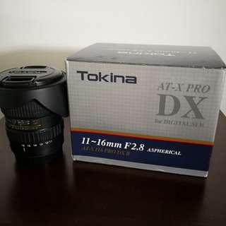 Tokina 11-16mm F2.8 mk 11