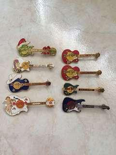 BN Hard Rock pins