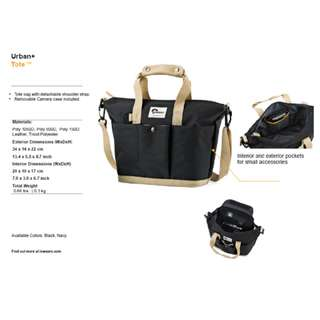 Lowepro Urban+ Tote Camera Bag (Black or Navy)