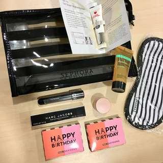 Sephora Sample Set Gift Set Makeup Cosmetics
